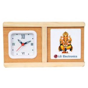 Desktop Organizer/ Office Table Top With Watch & Coaster Set