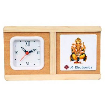 Office Table Top Watch & Coaster Set