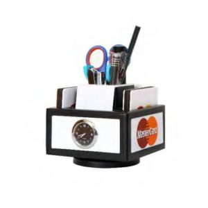 Revolving Desktop Organizer/ Table Top With Watch & Mobile Stand