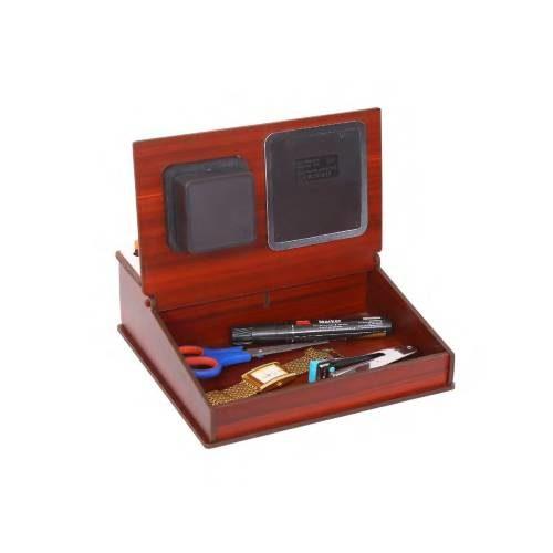 Desktop Organizer/ Table Top With Watch & Calculator