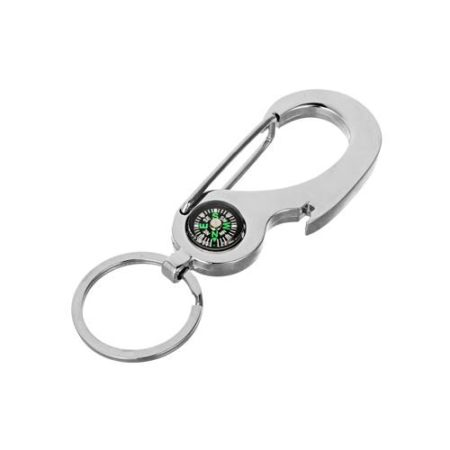 Metal Key Chain with Compass - SHK18