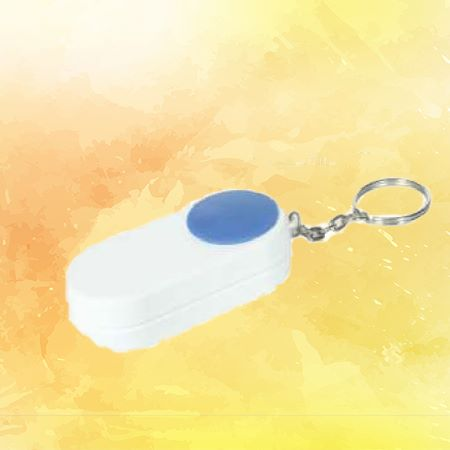Multipurpose Key Chain with Medical Pill Box