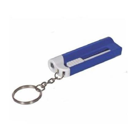 Multipurpose Key Chain - Ball Pen with LED Torch