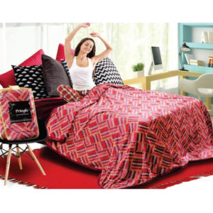 Vardhman Pringle Execlusive Extra Soft Double Bed Blanket
