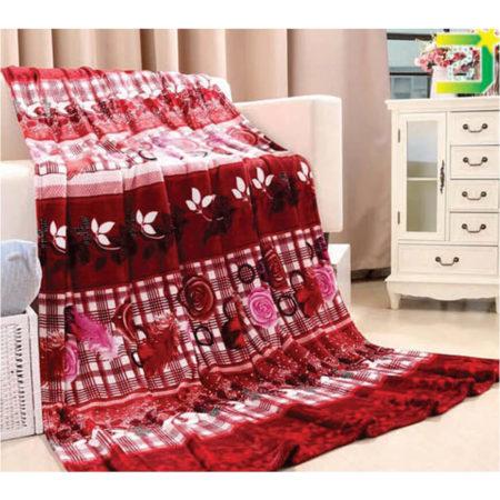 Vardhman Fleece Printed Single Bed Travelling Blanket