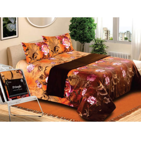 Vardhman Set of 4 Bedsheet with Blanket