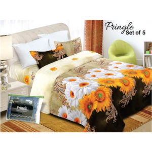 Vardhman Pringle Bed Set of 5