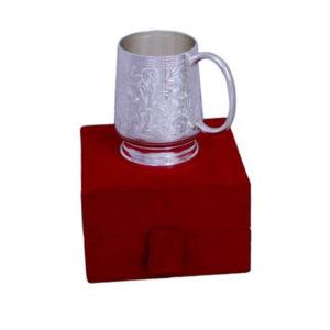 Silver Plated Brass Coffee & Beer Mug