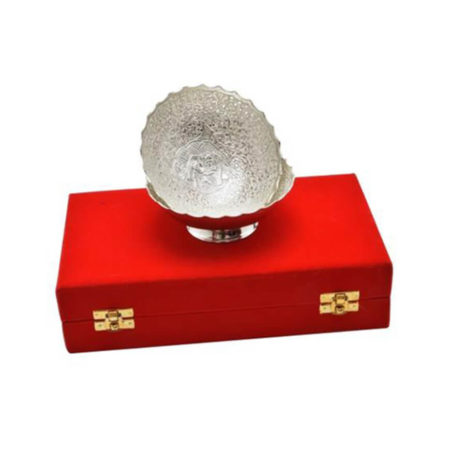 Silver Plated Brass Bowl Set