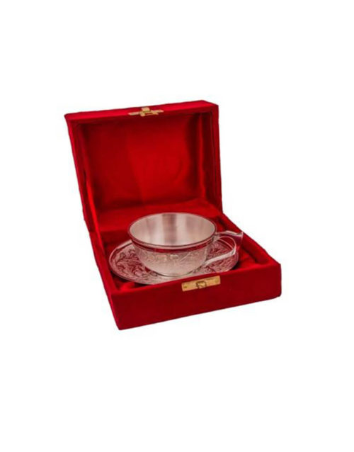 Silver Plated Brass Cup
