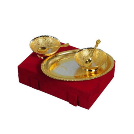 Golden Plated Designer Bowl Set