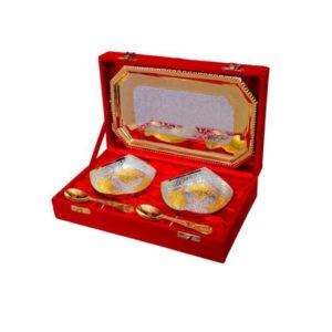 Golden Plated Bowl Set