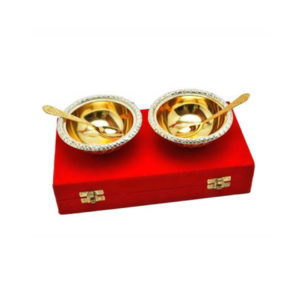 Silver & Gold Plated Bowl
