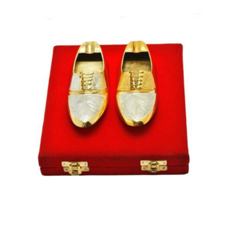 Golden Plated Shoe Shaped Ash Tray
