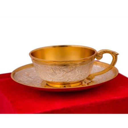 Golden & Silver Plated Cup