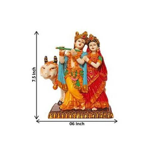 Radha Krishna Marble Idols - 04