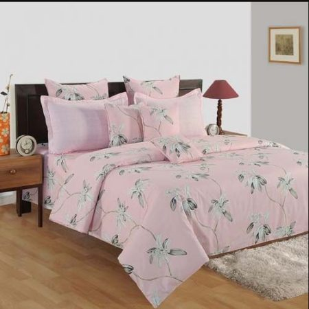 Swayam Veda Double Bedsheet with 2 Pillow Cover Set