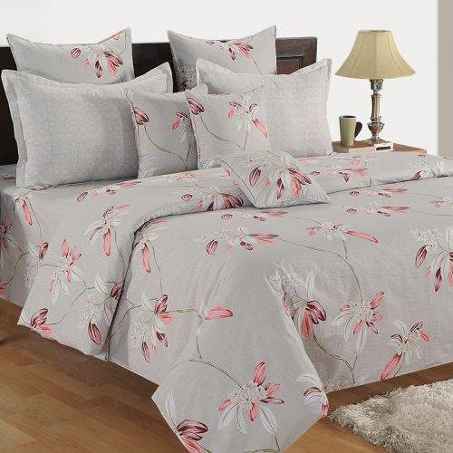 Swayam Ananda Double Bed Sheet with 2 Pillow Cover Set