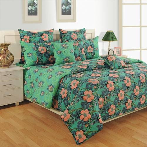 Swayam Colors of life Double Bed Sheet Set