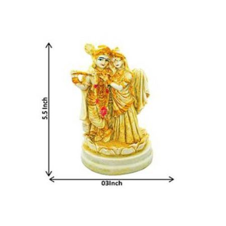 Radha Krishna Marble Idols - 03