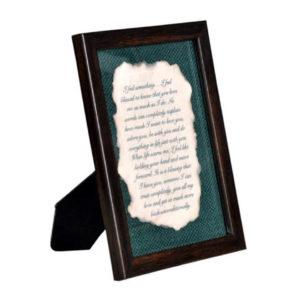 Burnt Letter Frame