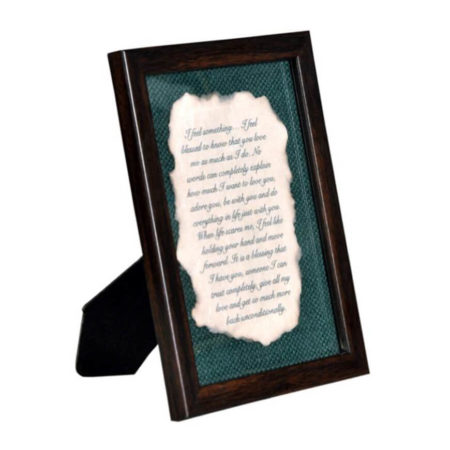 Burnt Letter Frame