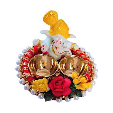 Ganpati Roli Chawal Platter