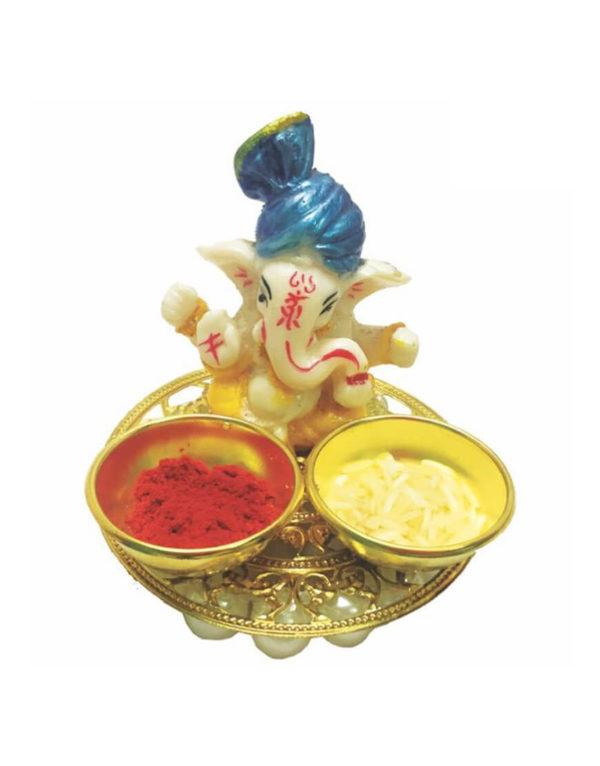 ANGEL Ganpati Roli Chawal Platter