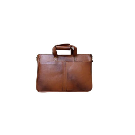 Leather Laptop Briefcase Bag - 02
