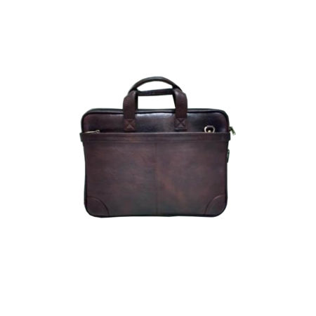 Leather Laptop Briefcase Bag - 04