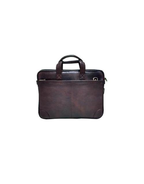 Leather Laptop Briefcase Bag - 04