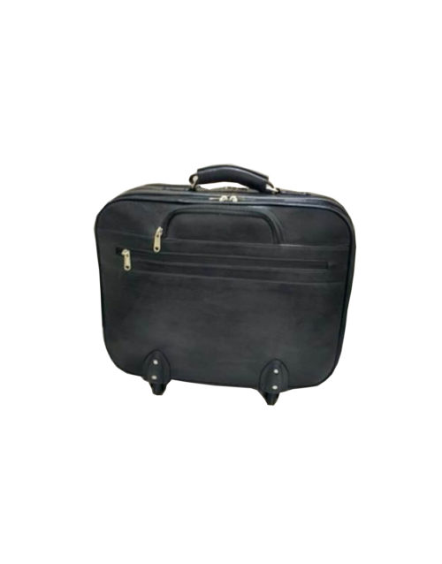 Trolley Leather Overnighter