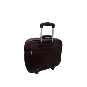 Trolley Leather Overnighter - 02