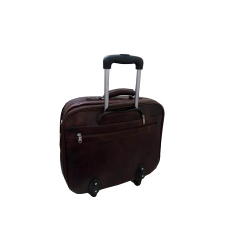 Trolley Leather Overnighter - 03