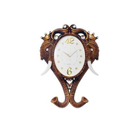 Elephant Mascot Wall Clock