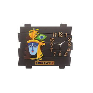 Krishana Wooden Wall Clock