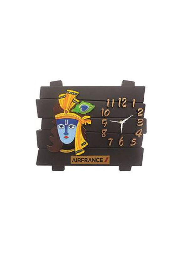 Krishana Wooden Wall Clock