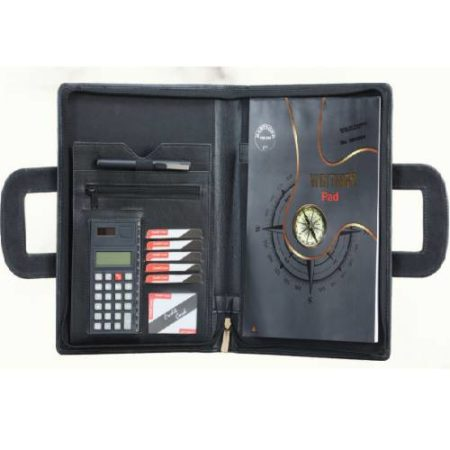 Angel Folder with Handle & Calculator