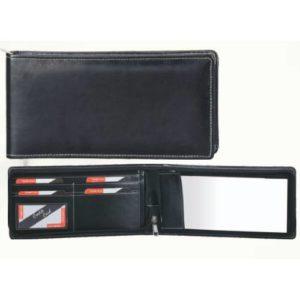 Angel Leatherite Cheque Book Zip - 323