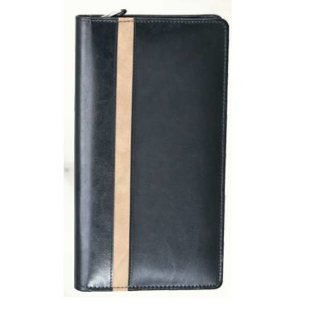 Leatherite Cheque Book Zip 430