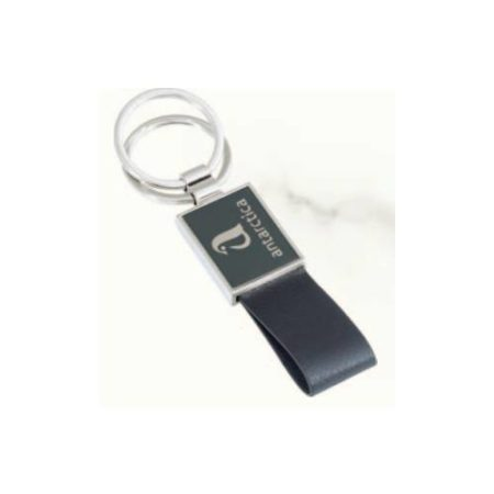 Angel Leather Key Chain