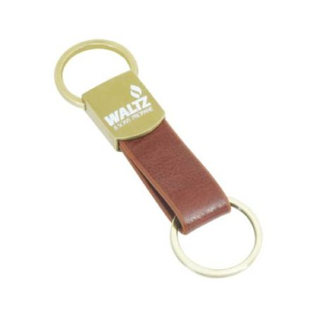Leather Key Chain - 9