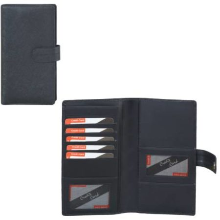 Leatherite Passport Cheque Book Holder 432