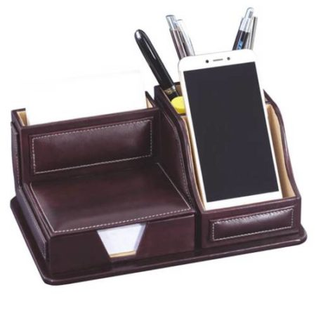 Leatherite Mobile Slip Pad Holder 442F