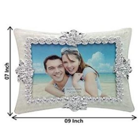 Silver Designer Photo Frame 02