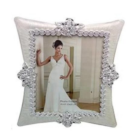 Silver Designer Photo Frame 03