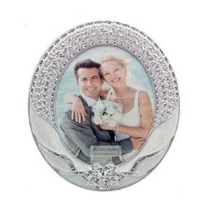 Silver Round Shaped Photo Frame