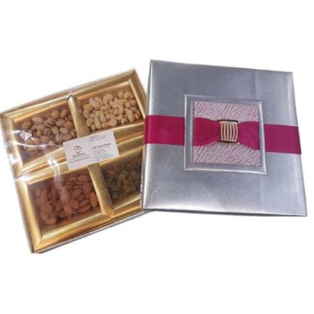 Dry Fruit Silver Box