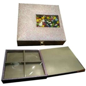 Dry Fruit Wooden Glitter Design Box
