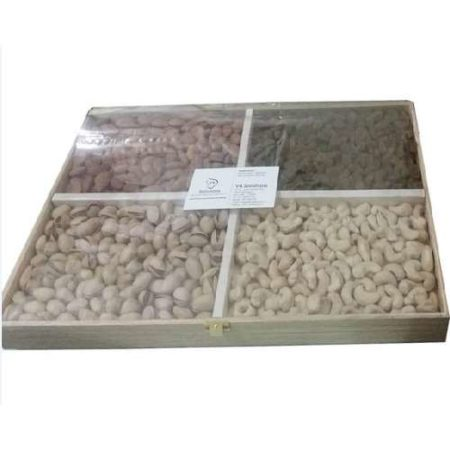 Dry Fruit Wooden Designer Box